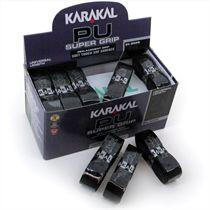 Karakal Black PU Super Replacement Grip - 24 pack