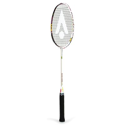 Karakal Black Zone Lite FF Badminton Racket - Angled
