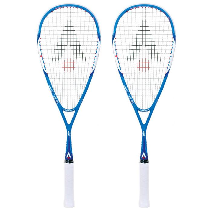 Karakal BX 130 Gel Squash Racket Double Pack