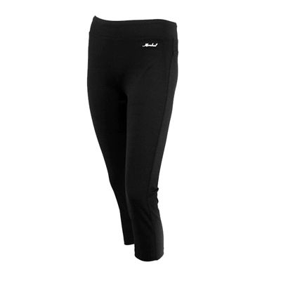 Karakal Capri Leggings-Black-Front