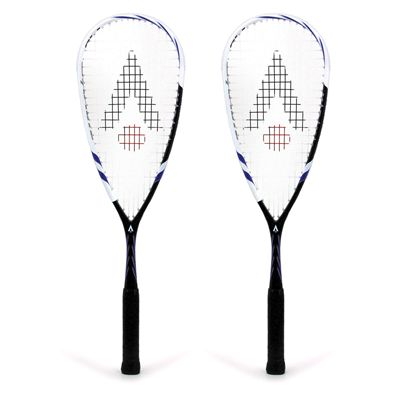 Karakal Carbon Pro Squash Racket Double Pack