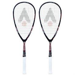 Karakal Crystal Pro SSL 125 Squash Racket Double Pack