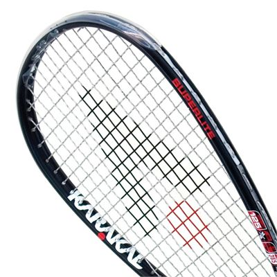Karakal Crystal Pro SSL 125 Squash Racket-Head View