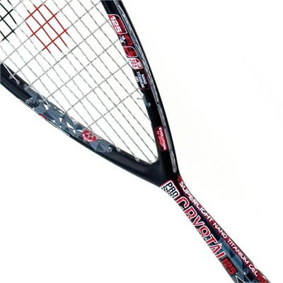 Karakal Crystal Pro SSL 125 Squash Racket-String View