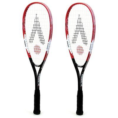 Karakal CSX Junior Squash Racket Double Pack - Side