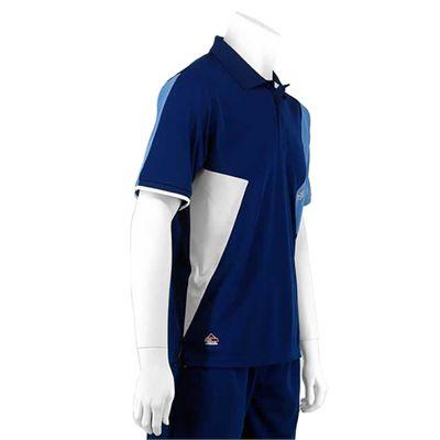 Karakal Dijon Button Polo Shirt-Navy-Right-Side