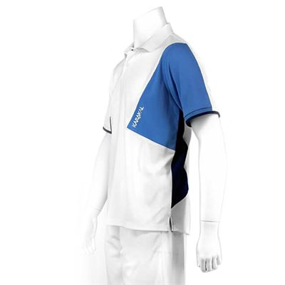 Karakal Dijon Button Polo Shirt-White-Left-Side