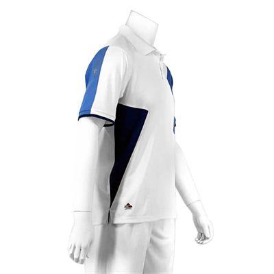 Karakal Dijon Button Polo Shirt-White-Right-Side