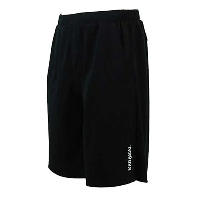 Karakal Dijon Shorts-Black-Left-Side