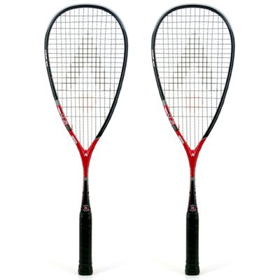 Karakal Graphite Comp 160 Squash Racket Double Pack