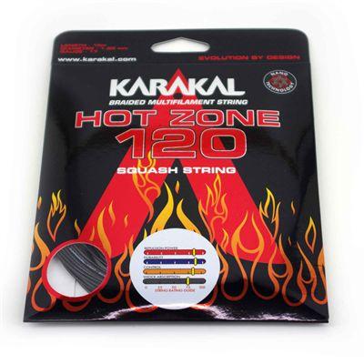 Karakal Hot Zone 120 Squash String Set - Black