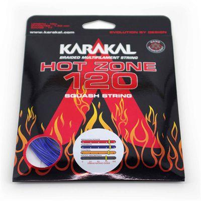 Karakal Hot Zone 120 Squash String Set - Blue