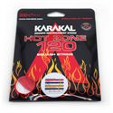 Karakal Hot Zone 120 Squash String Set - Red