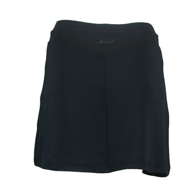 Karakal Kross Kourt Plain Skort-Black-Back