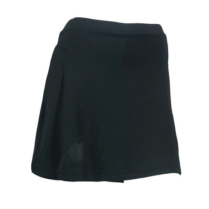 Karakal Kross Kourt Plain Skort - Black, S
