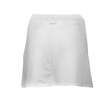 Karakal Kross Kourt Plain Skort-White-Back