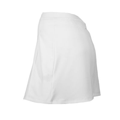 Karakal Kross Kourt Plain Skort-White-Side