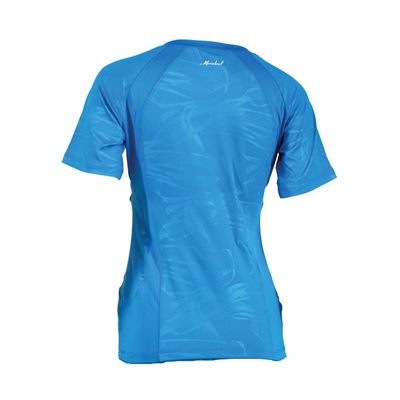 Karakal Kross Kourt Tee Shirt-Blue-Back