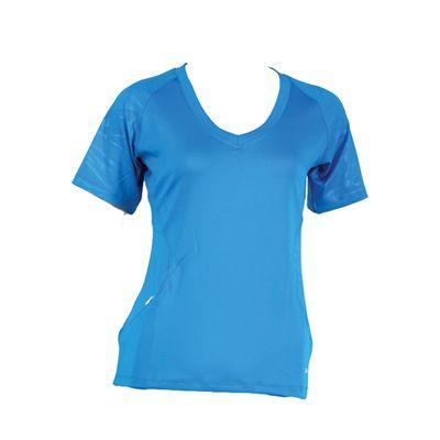 Karakal Kross Kourt Tee Shirt-Blue-Front