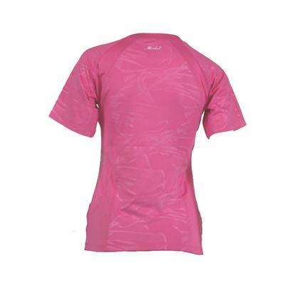 Karakal Kross Kourt Tee Shirt-Pink-Back