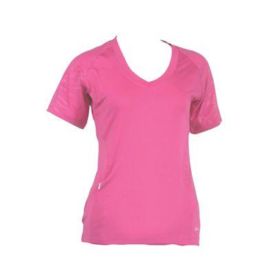 Karakal Kross Kourt Tee Shirt-Pink-Front