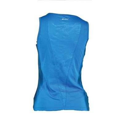Karakal Kross Kourt Tank Shirt-Blue-Back
