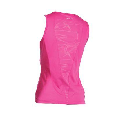 Karakal Kross Kourt Tank Shirt-Pink-Back