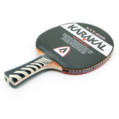 Karakal KTT 200 Table Tennis Bat Top View