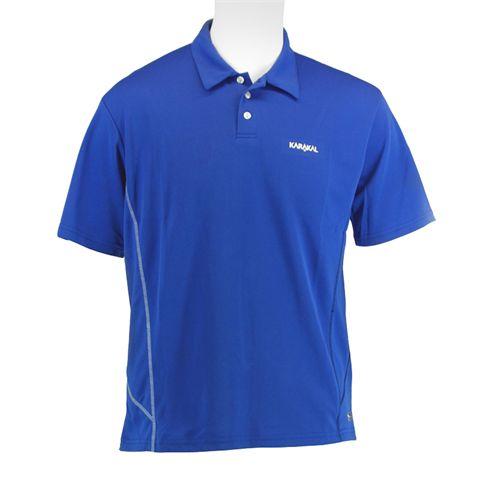 Karakal Leon Button Polo Shirt