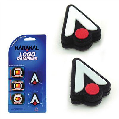 Karakal Logo Vibration Dampner Twin Pack - Main Image