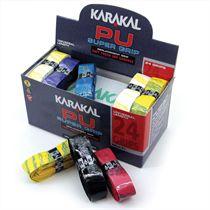Karakal Multi Colour PU Super Replacement Grip - 24 pack