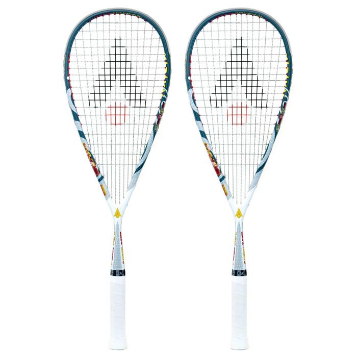 Karakal MX 125 Gel Squash Racket Double Pack