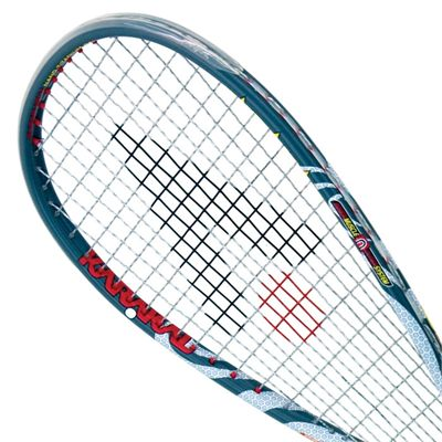 Karakal MX 125 Gel Squash Racket-Head View