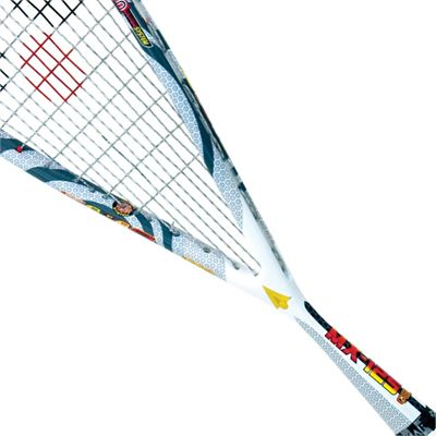 Karakal MX 125 Gel Squash Racket-String View