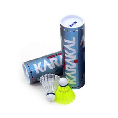 Karakal National Shuttlecocks - Medium - Tube of 6 - Main Image