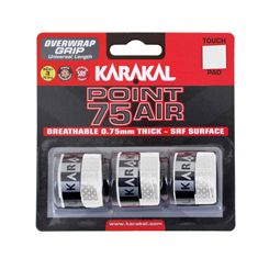Karakal Point 75 Air Overwrap Grip - Pack of 3