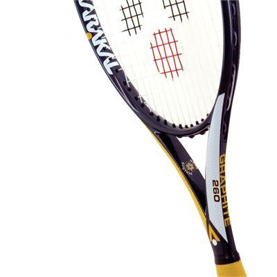 Karakal Pro Graphite 260 Tennis Racket - Head View