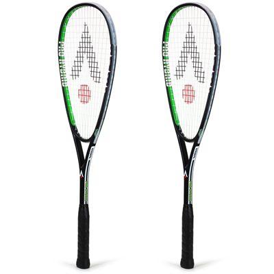 Karakal Pro Hybrid Squash Racket Double Pack AW19 - Angled