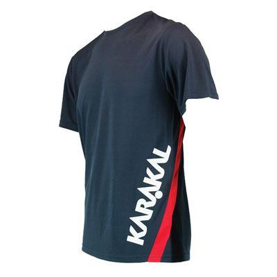 Karakal Pro T-Shirt - Graphite - Angled