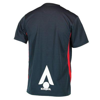 Karakal Pro T-Shirt - Graphite - Back