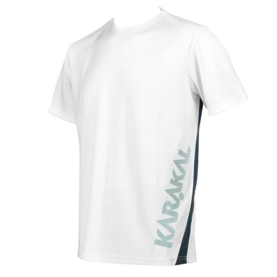 Karakal Pro T-Shirt - White - Angled