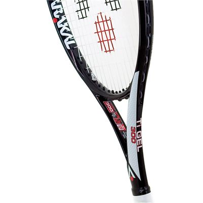 Karakal Pro Ti Gel 300 Tennis Racket - Head View