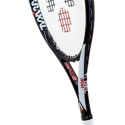 Karakal Pro Ti Gel 300 Tennis Racket - Head View