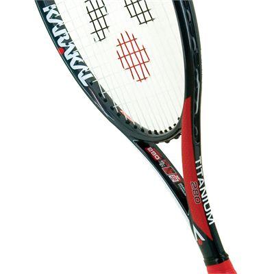 Karakal Pro Titanium 280 Tennis Racket - Head View