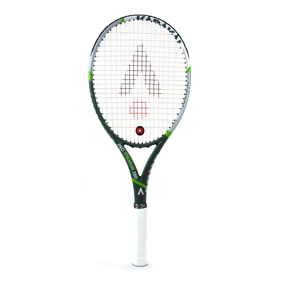 Karakal Pro Titanium 280 Tennis Racket  Grip 3