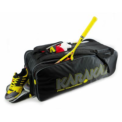 Karakal Pro Tour 2.0 Elite 12 Racket Bag - In Use2