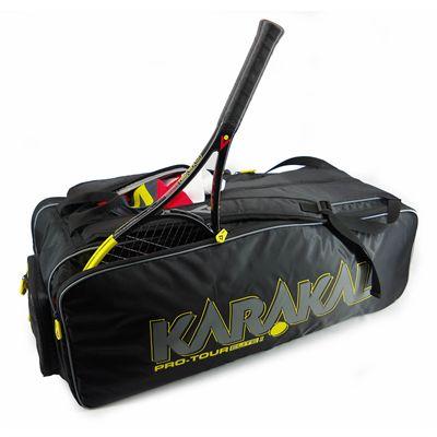 Karakal Pro Tour 2.0 Elite 12 Racket Bag - In Use