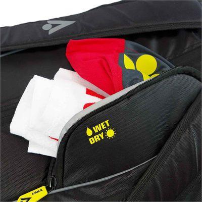 Karakal Pro Tour 2.0 Elite 12 Racket Bag - Wet Dry
