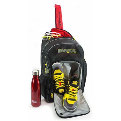 Karakal Pro Tour 2.0 Match 30 Backpack - In Use