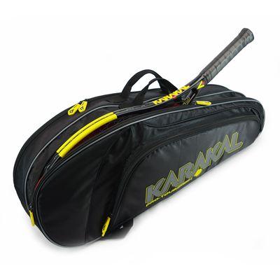 Karakal Pro Tour 2.0 Match 4 Racket Bag - In Use